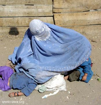 Afghani Beggar