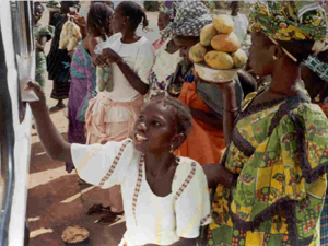Senegalese Market Ladies